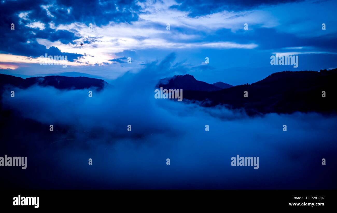 Wolkenbruch - Stock Image