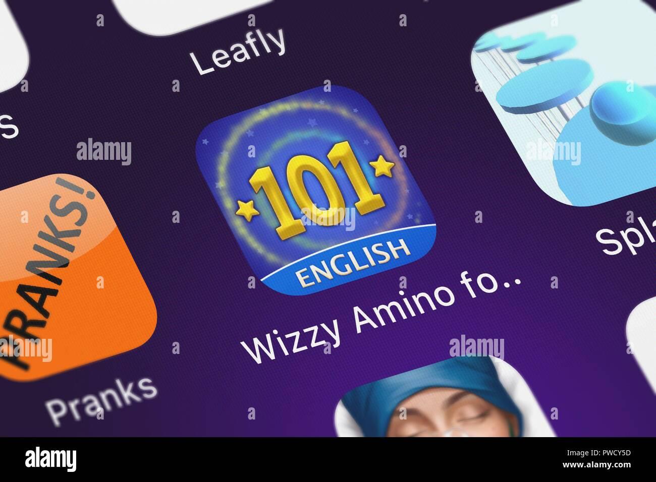 Wizzy Amino For Wizard101 Stock Photos & Wizzy Amino For