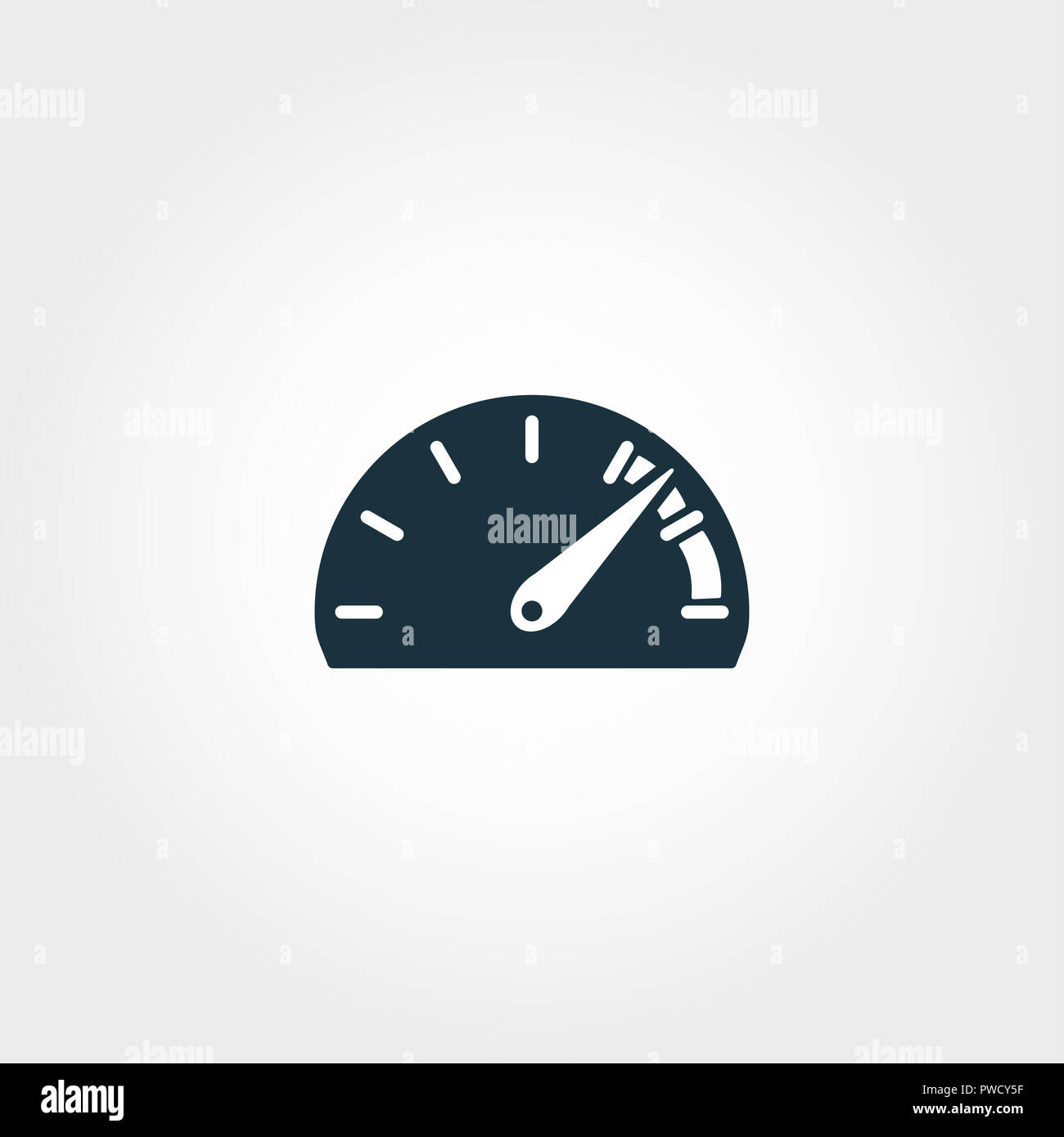 Speedometer Icon Stock Photos Speedometer Icon Stock