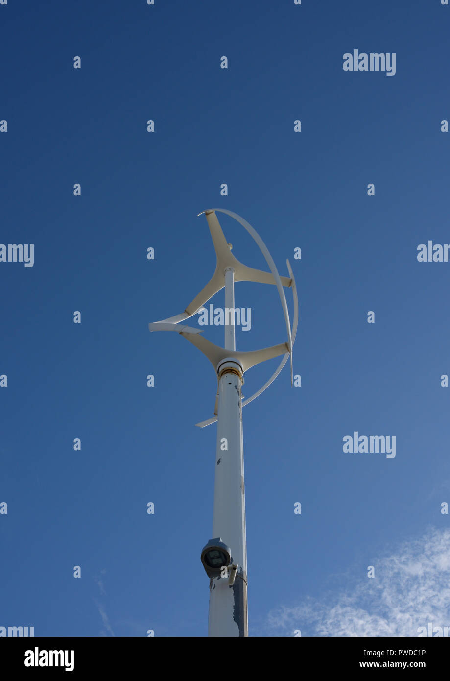 Vertical Axis Wind Turbine Stock Photos & Vertical Axis Wind Turbine