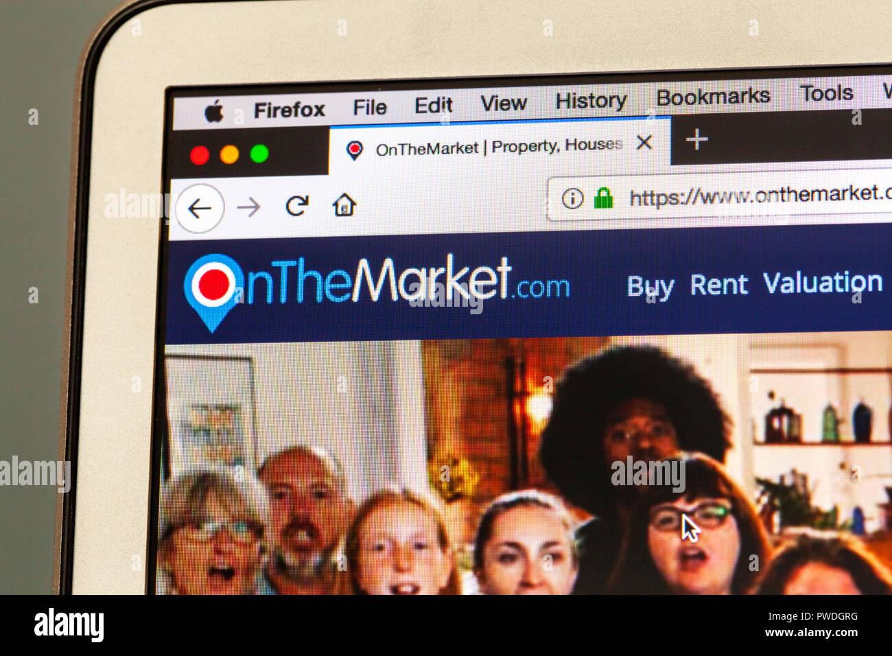 Online agent website