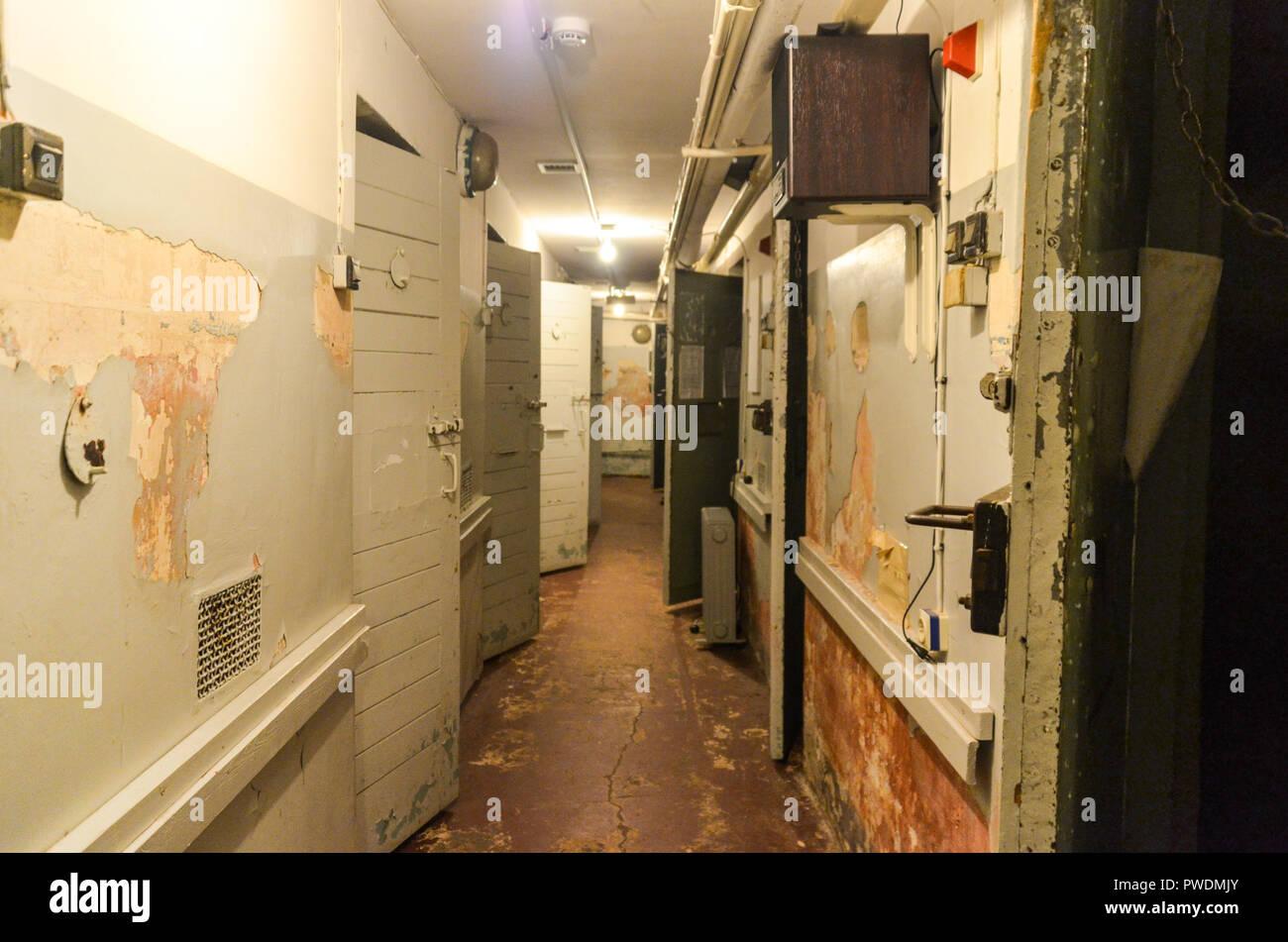 KGB museum in Riga, Latvia - Stock Image