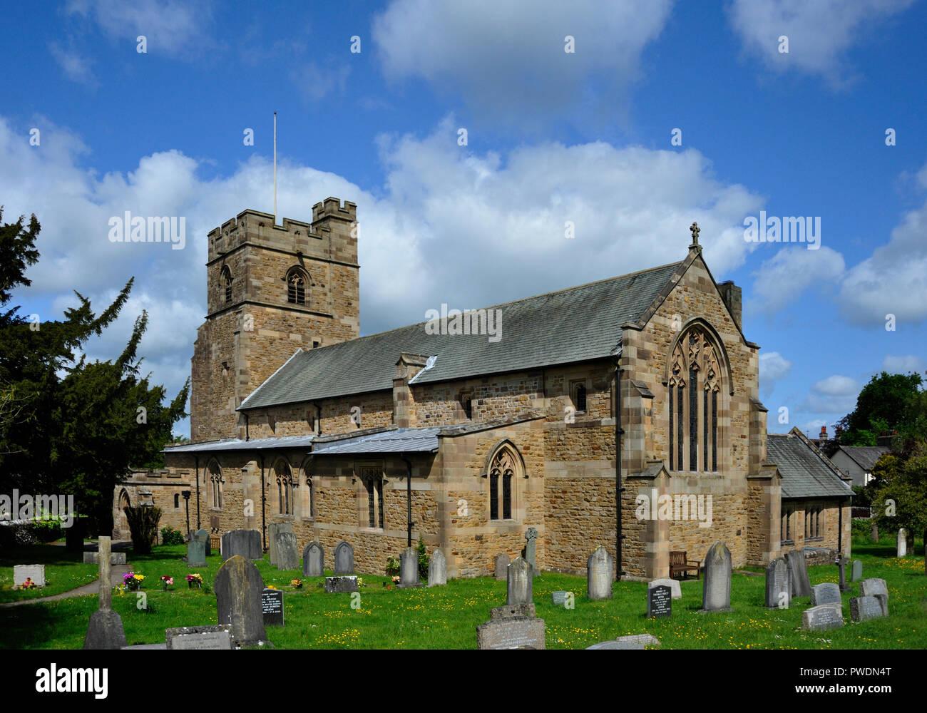 Church of Saint Mark, Natland, Cumbria, England, United Kingdom, Europe. - Stock Image