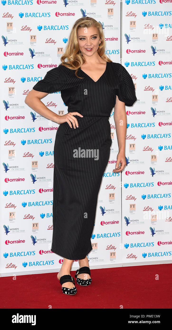 London, UK. 15th Oct 2018.  attends the Women of the Year Lunch & Awards, London, UK - 15 Oct 2018 Credit: Gary Mitchell, GMP Media/Alamy Live News Stock Photo