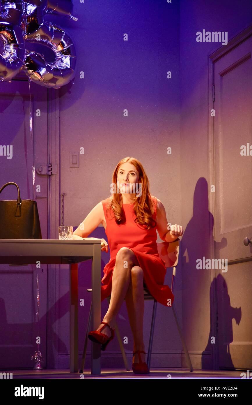 "London, UK. 15th Oct 2018. Rosalie Craig,""Company""A Musical Comedy,Photocall,Gielgud Theatre,London.UK Credit: michael melia/Alamy Live News Stock Photo"