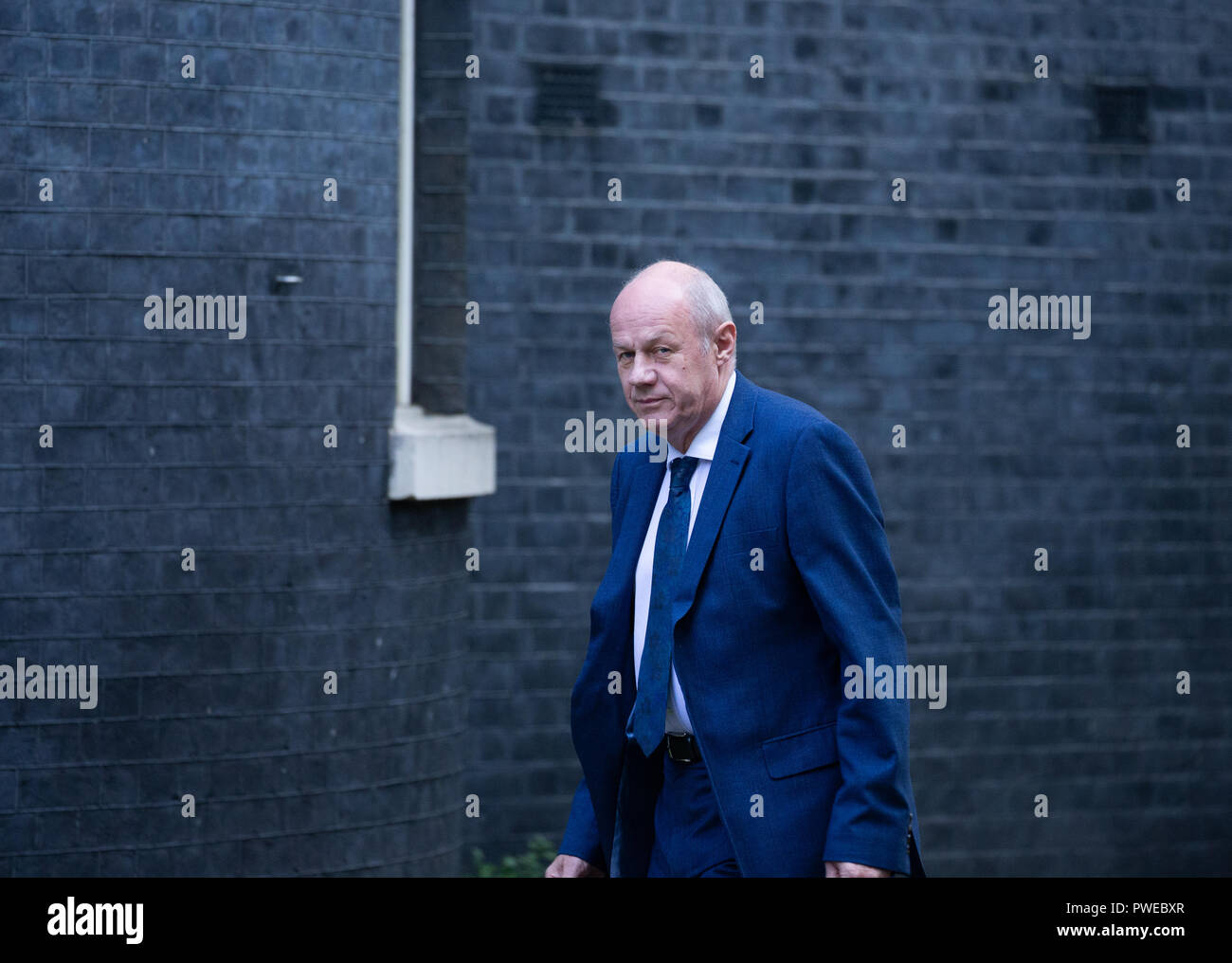 London, UK. 16th Oct 2018. Damian Green arrives in Downing Street Credit: Tommy London/Alamy Live News - Stock Image