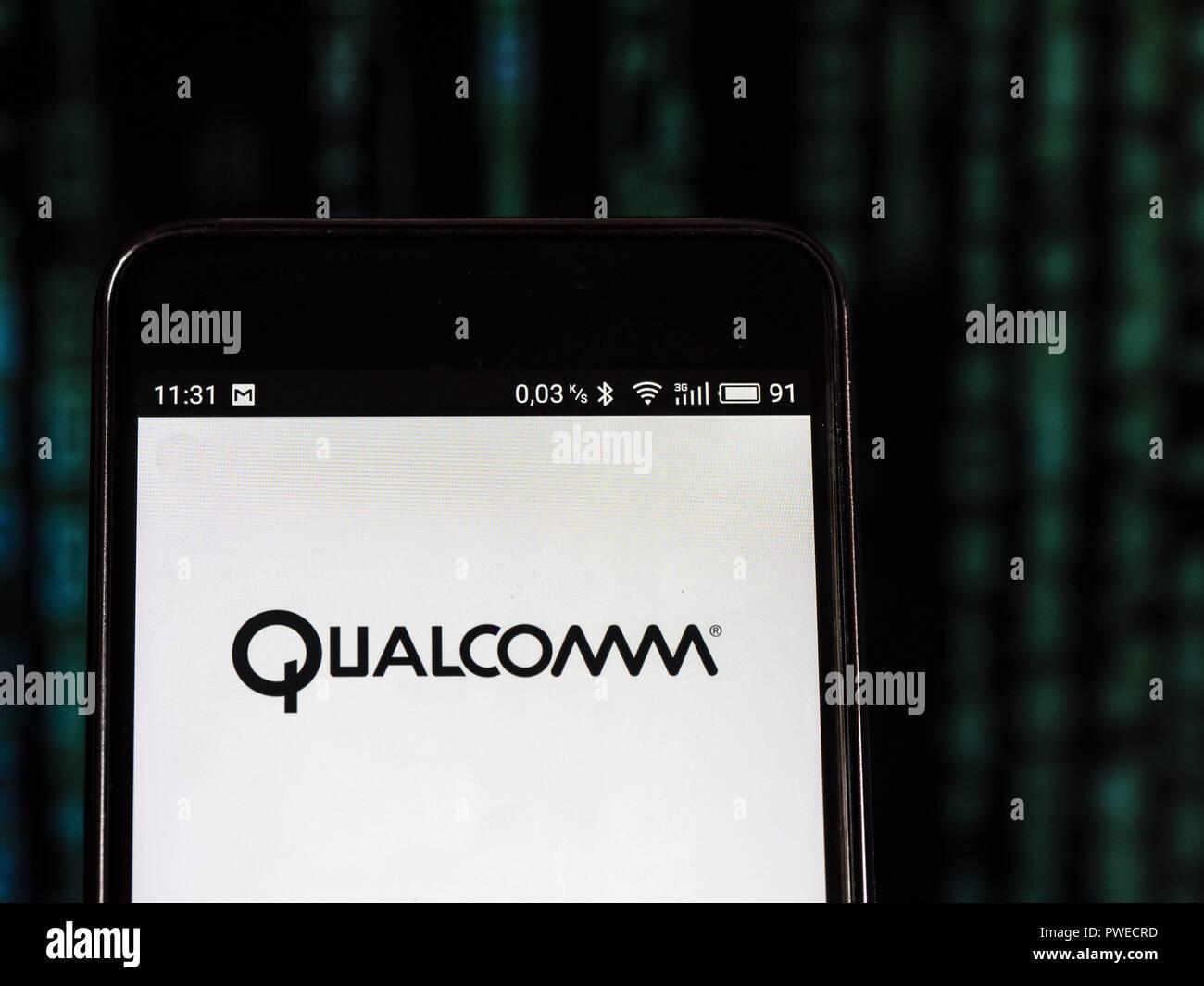 Qualcomm Logo Stock Photos & Qualcomm Logo Stock Images - Alamy
