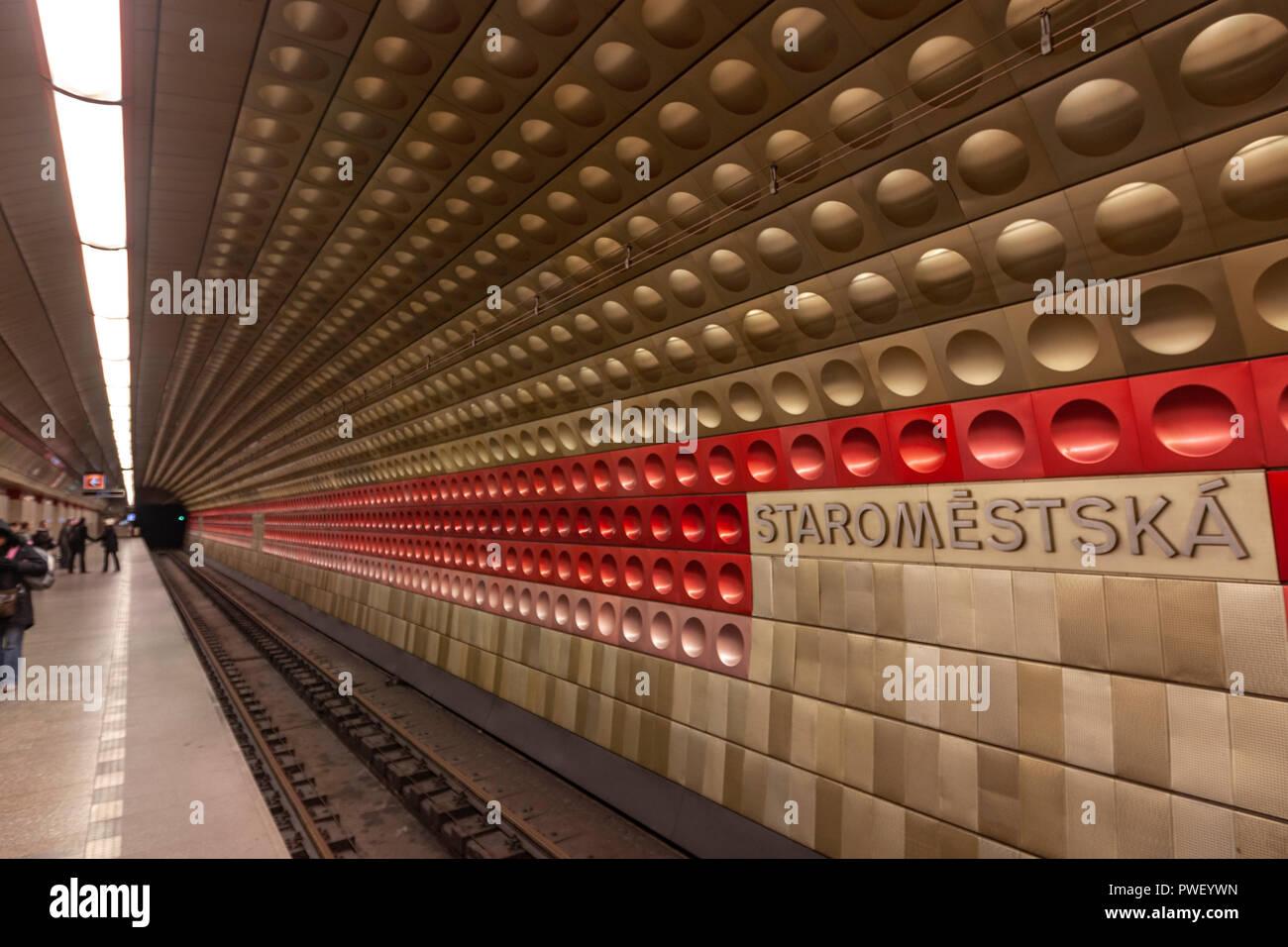 subway prague ok