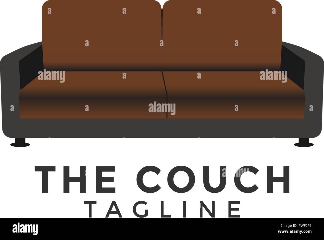 Couch Graphic Design Element Template Vector Stock Vector Art