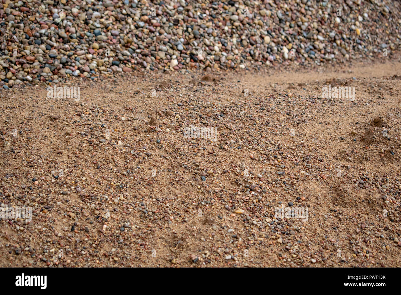 texture of stone, sandy background of natural origin background image - Stock Image