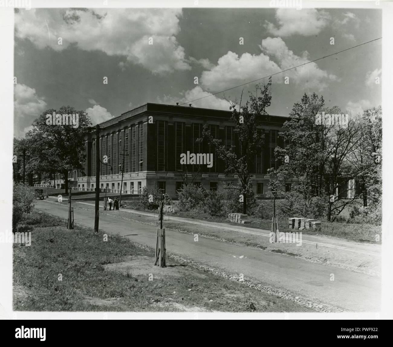 BuildingsonOldCampus 032. - Stock Image
