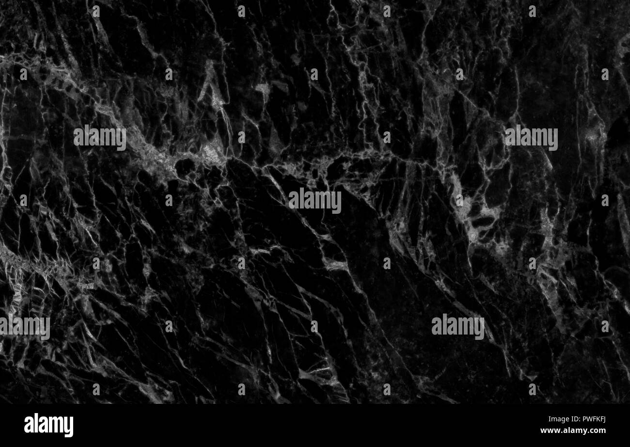 Beautiful Wallpaper Pattern Marble Black And White Stock