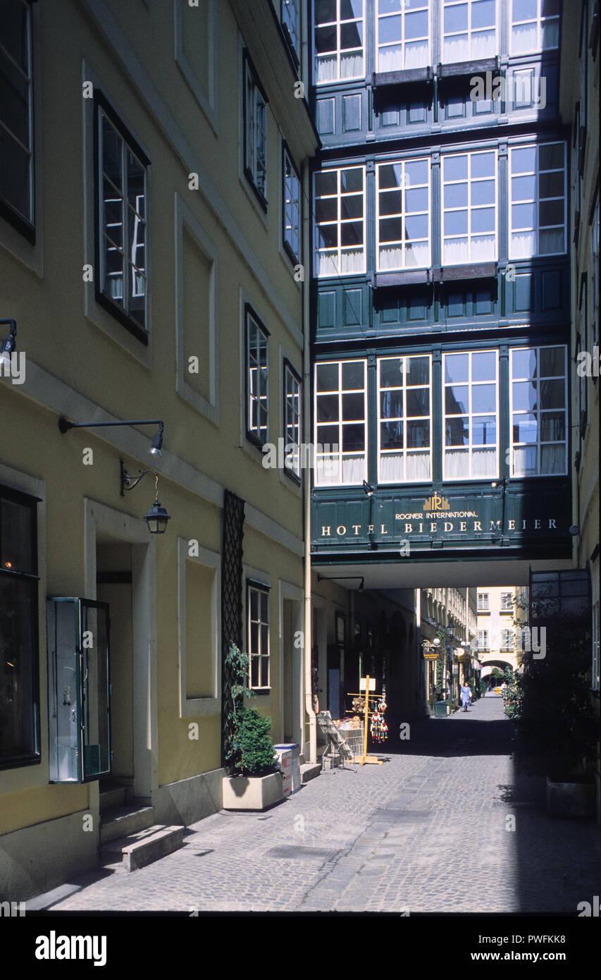 Wien Hotel Biedermeier Vienna Hotel Biedermeier Stock Photo