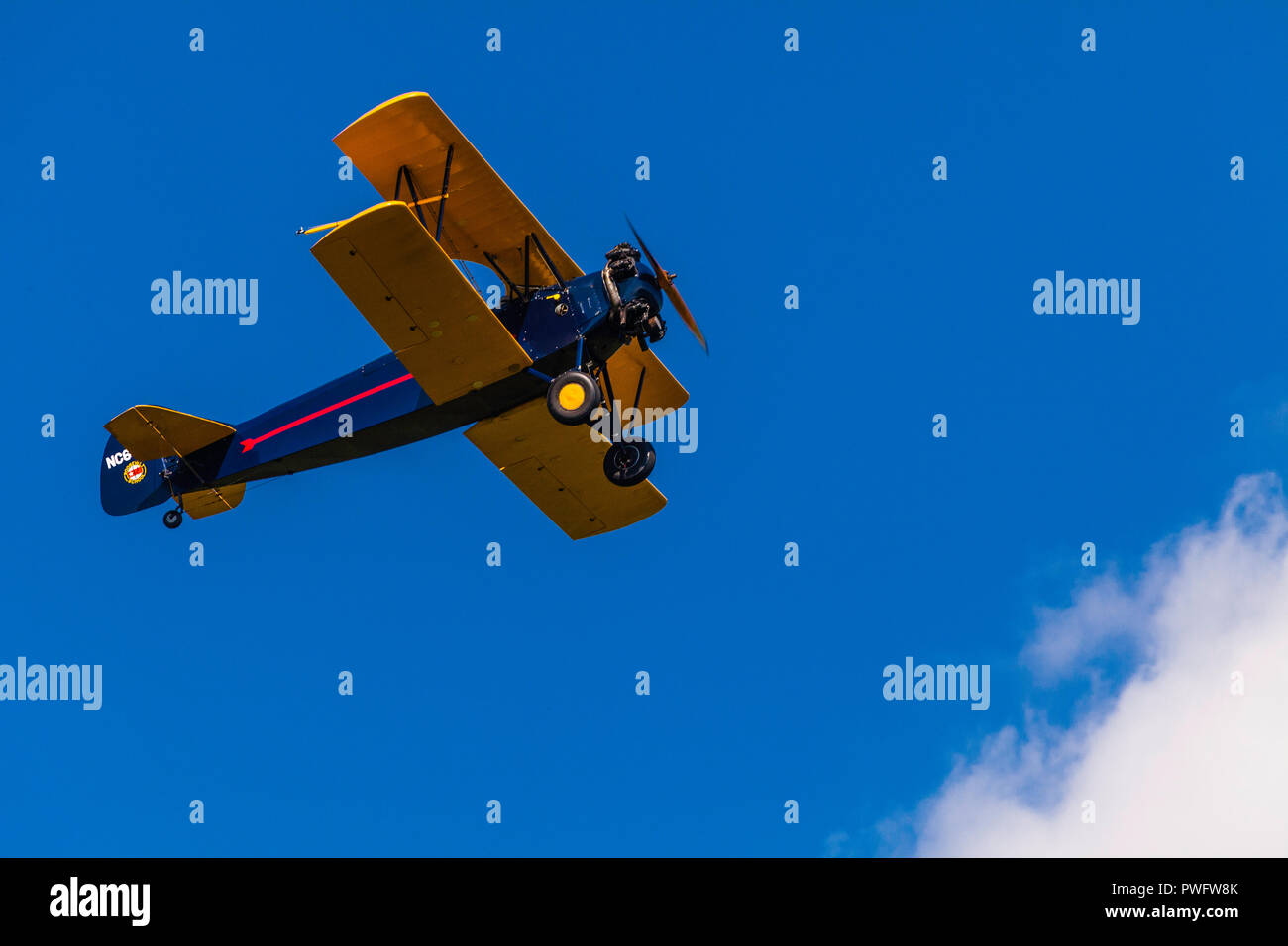 Old Rhinebeck Aerodrome _ Rhinebeck, New York, USA - Stock Image