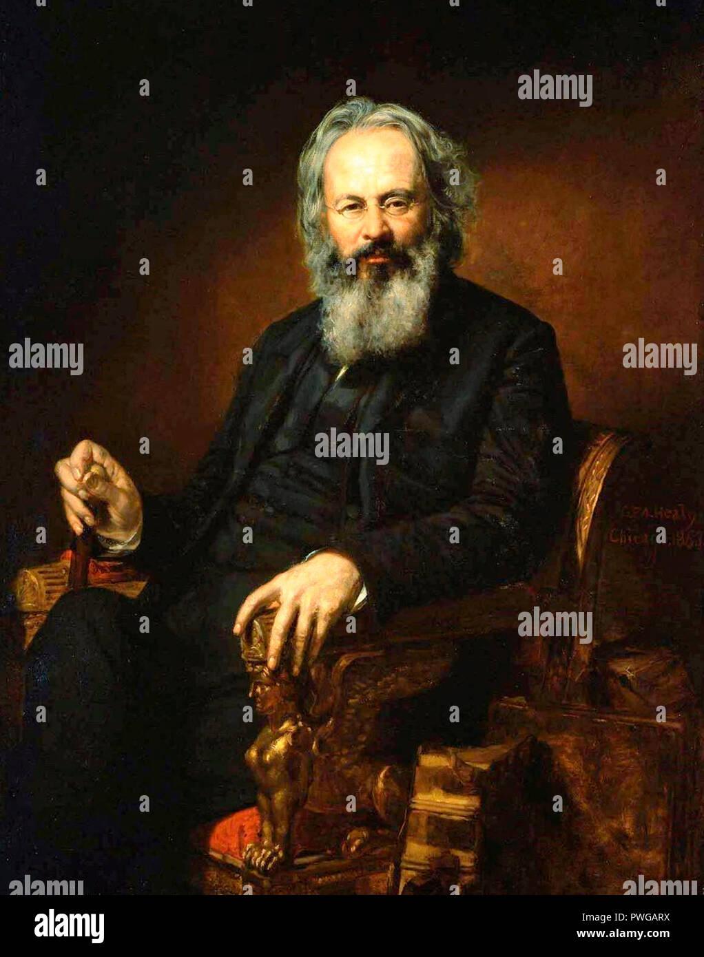Orestes Brownson - George Peter Alexander Healy, circa 1863 - Stock Image