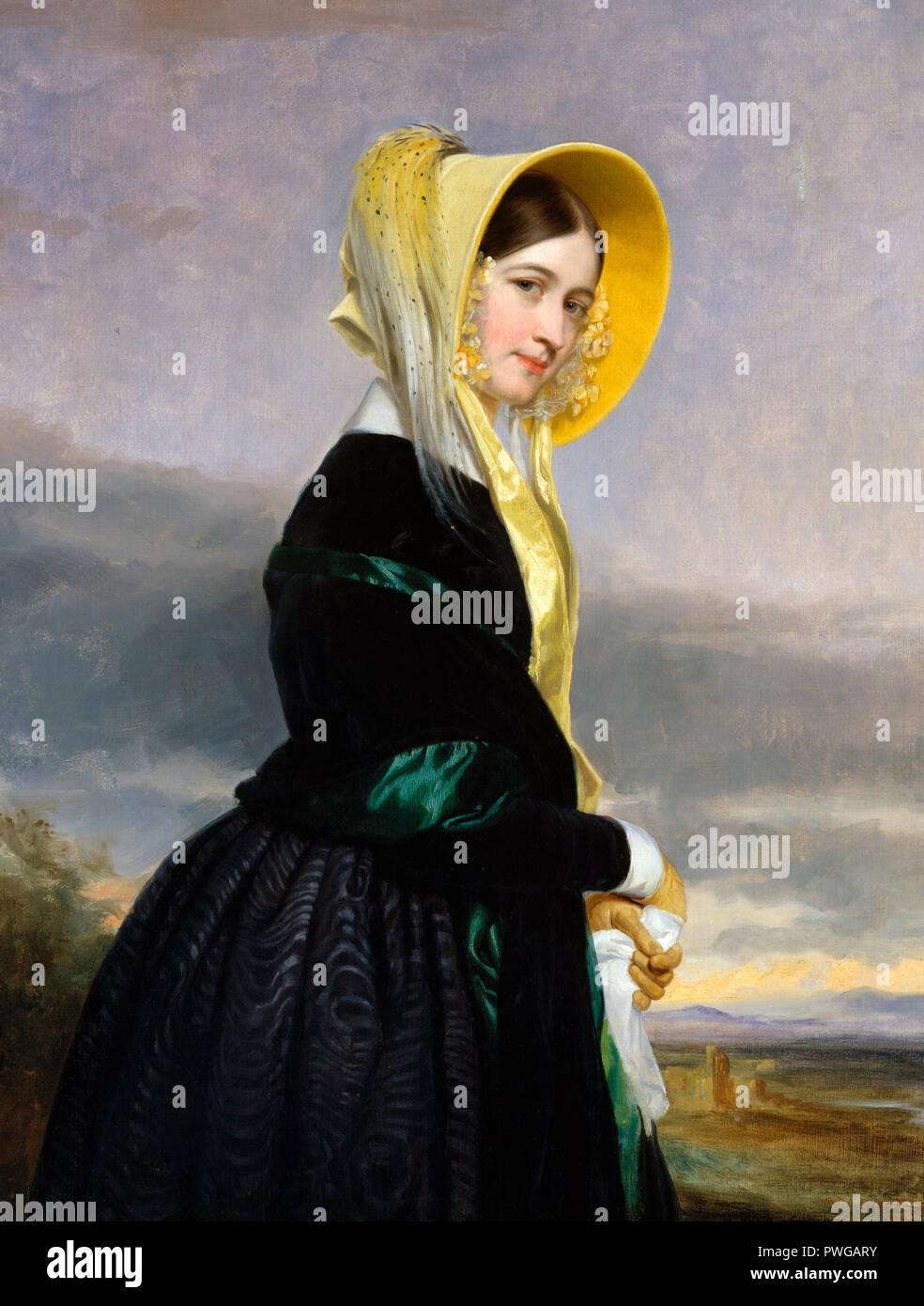 Euphemia White Van Rensselaer - George Peter Alexander Healy, 1842 - Stock Image