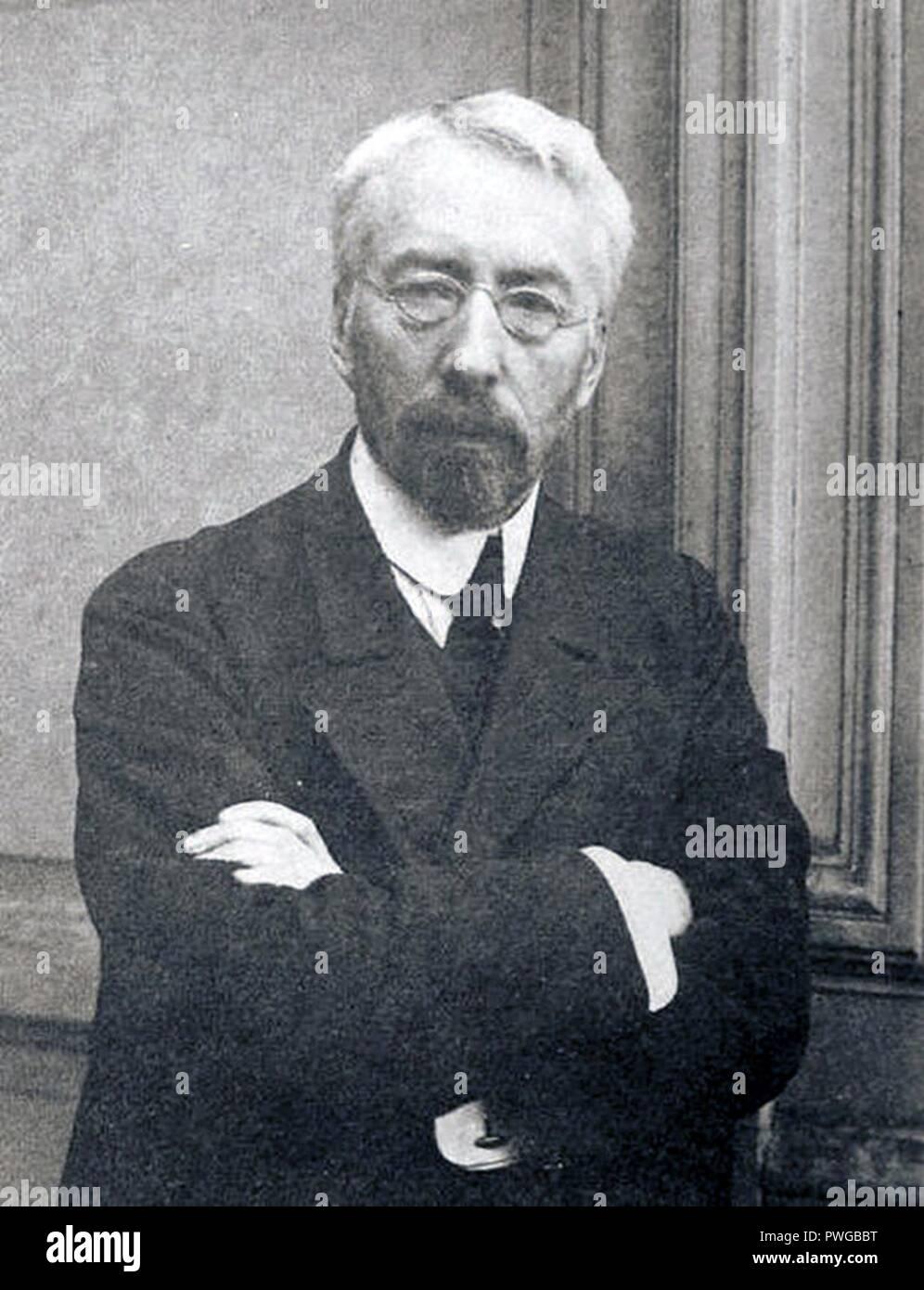 Burtsev V.L. 1900-e Karl Bulla. - Stock Image