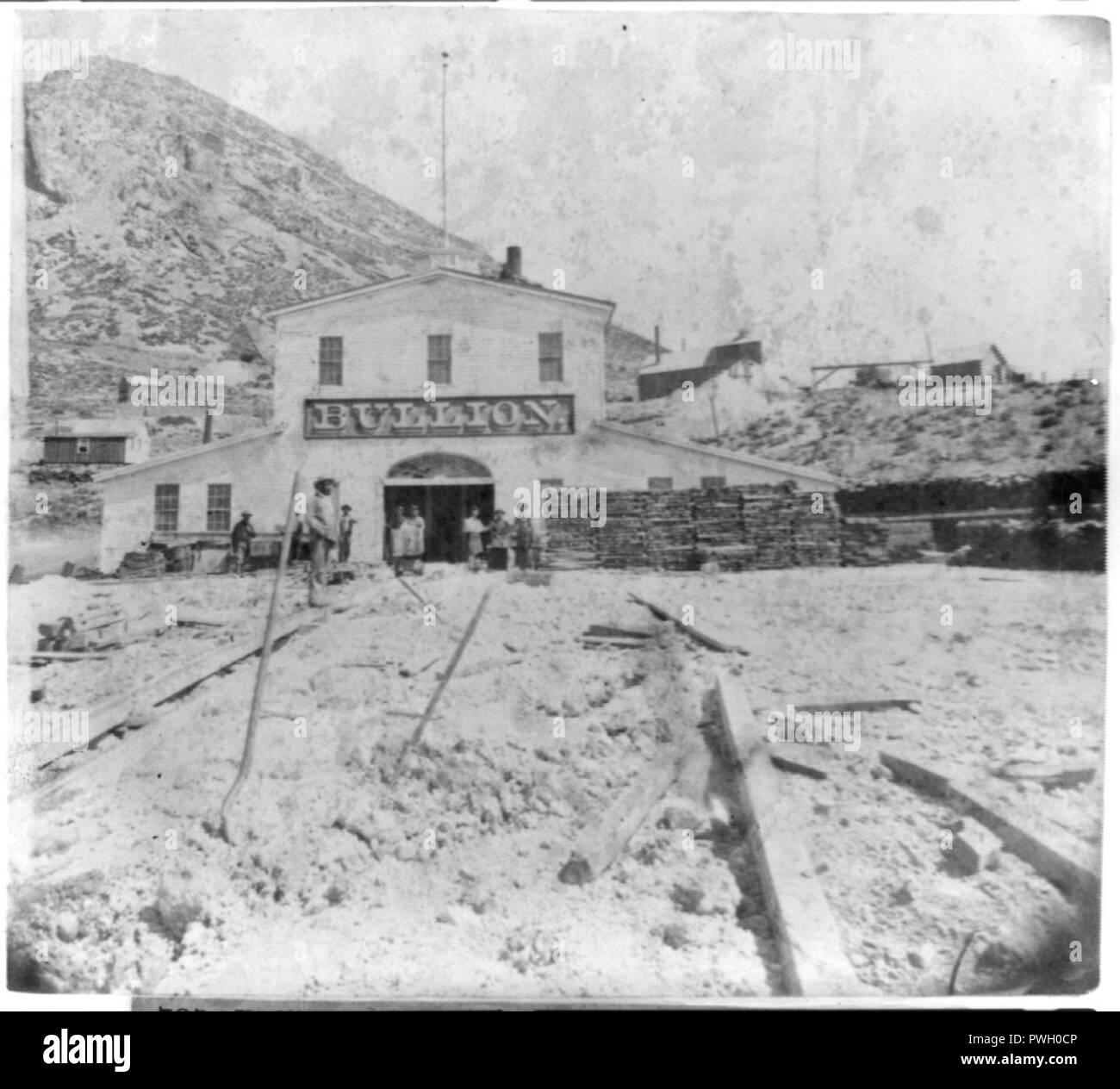 Bullion mine, Gold Hill, Nevada - Stock Image
