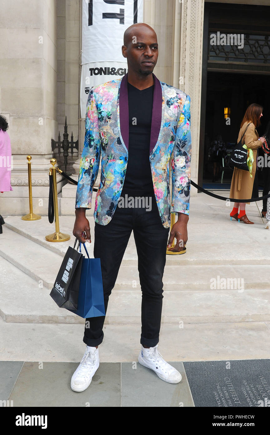 a92a3703d8d London Fashion Week Spring Summer 2019 - Celebrity Sightings Featuring   Guest Where  London