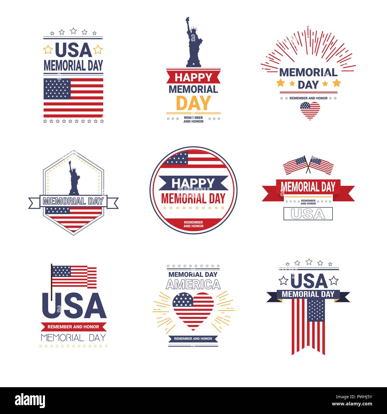 american flag statue liberty cut out stock images pictures alamy