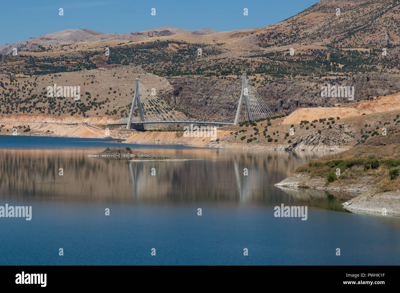 Built on the Euphrates River, the Nissibi Bridge is one of