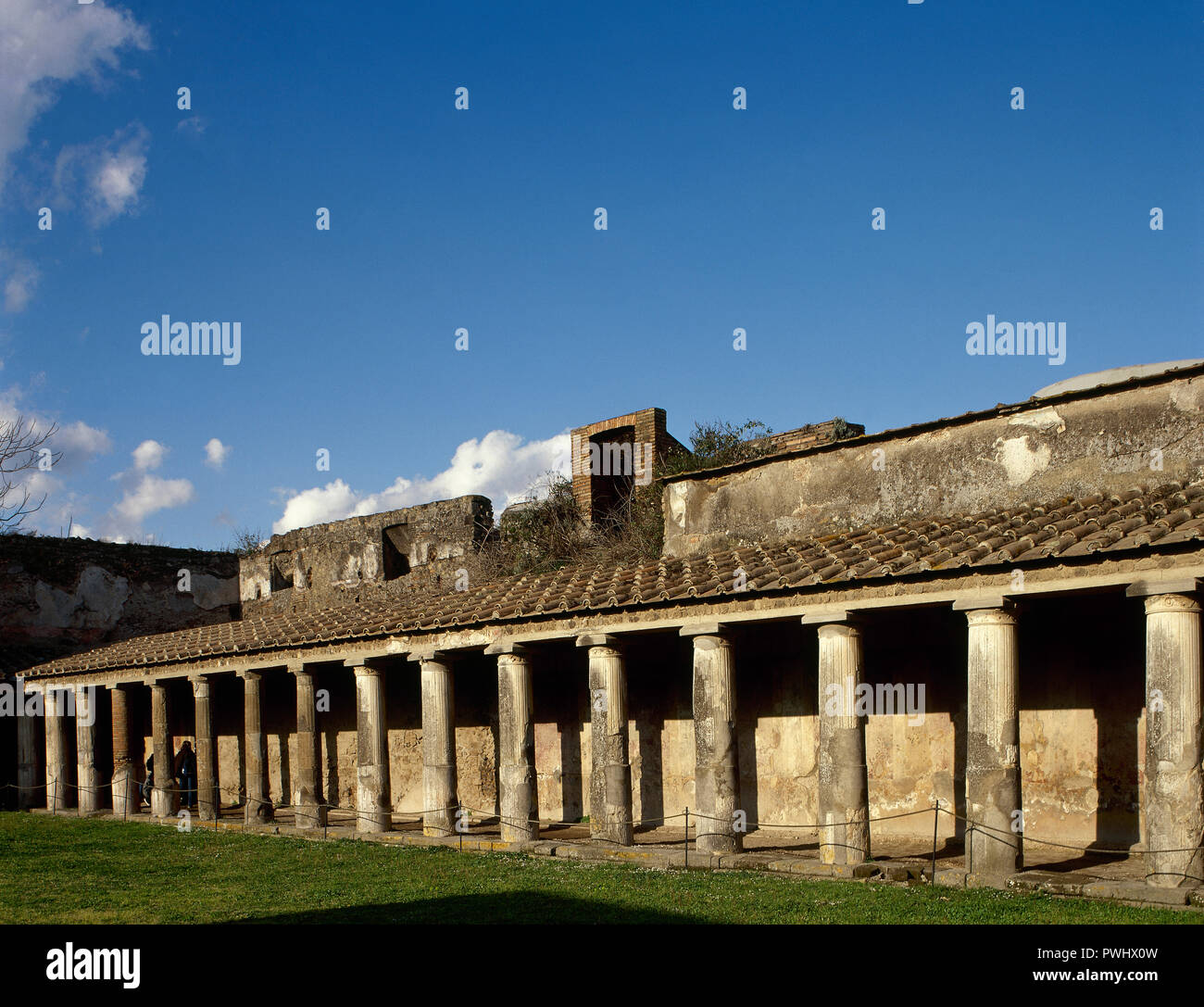 Italy Pompeii Roman City Destroyed In 79 AD Because Of The