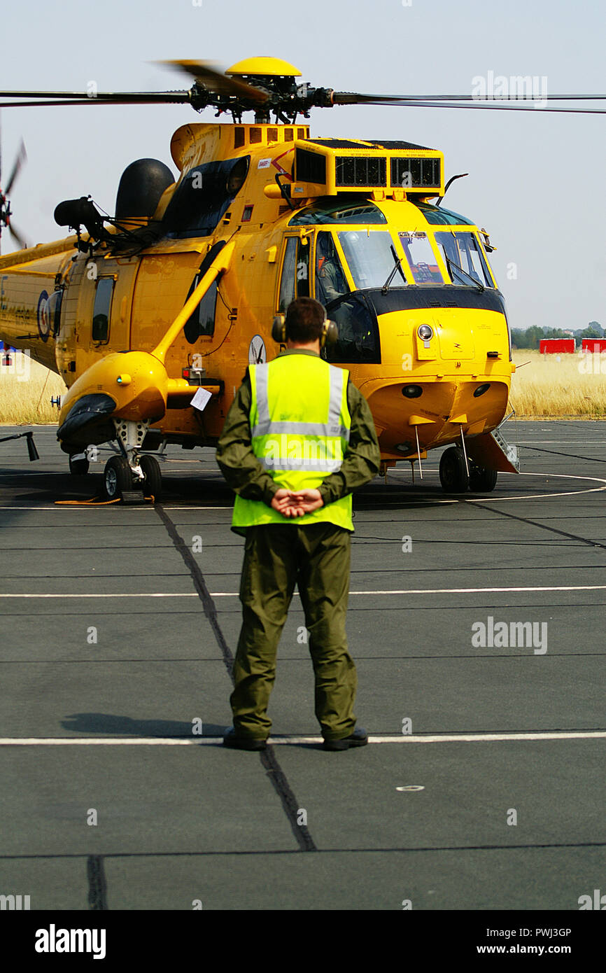 medivac, air ambulance, Helicopter Rescue - Stock Image