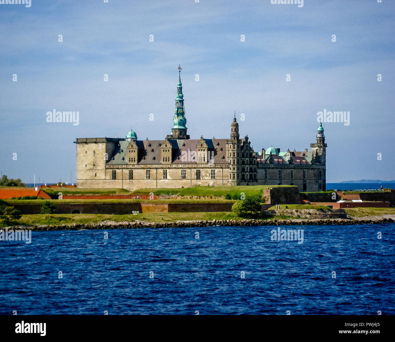 The home of Hamlet. - Stock Image