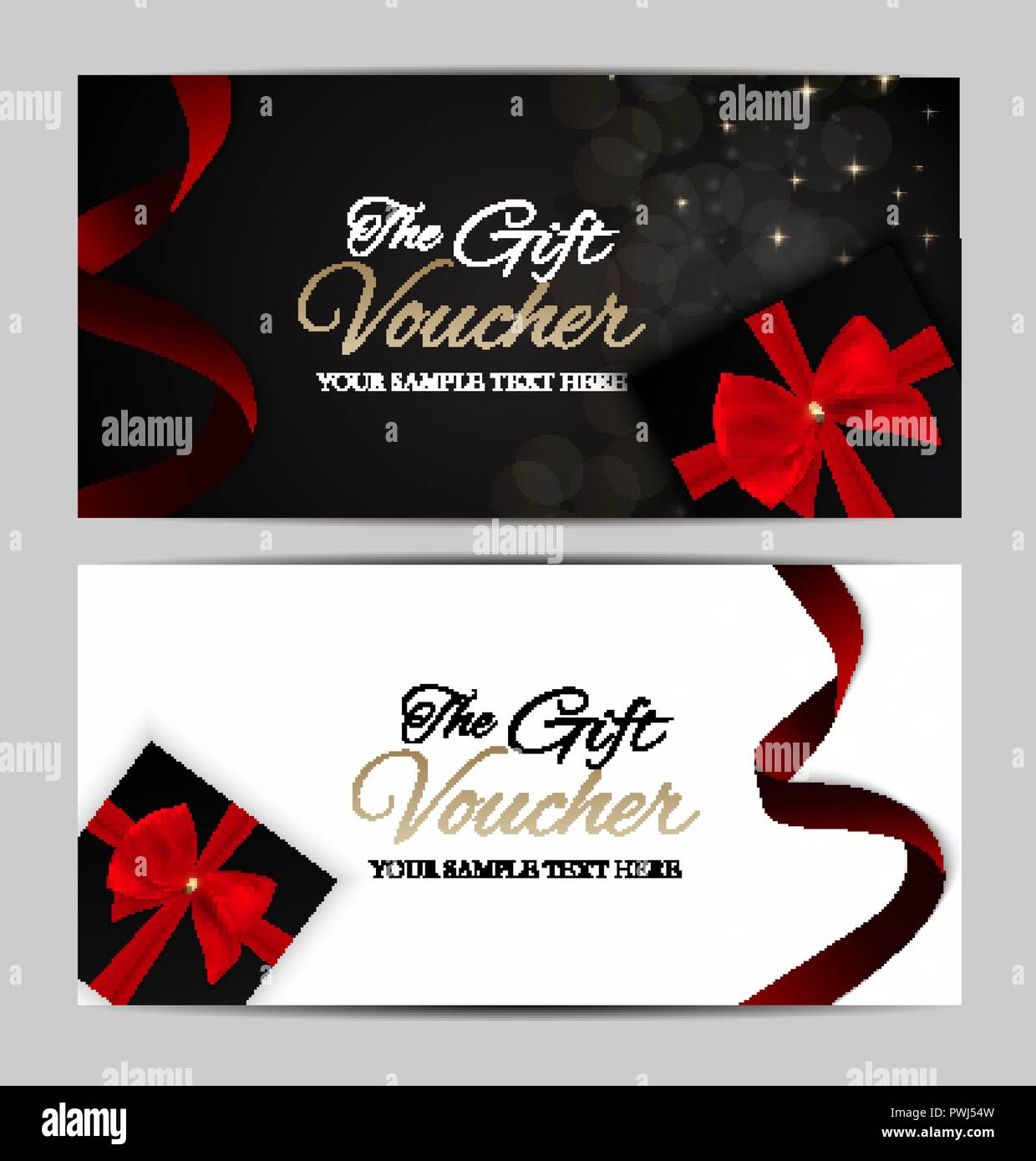 Luxury Members Gift Card Template For Your Business Vector