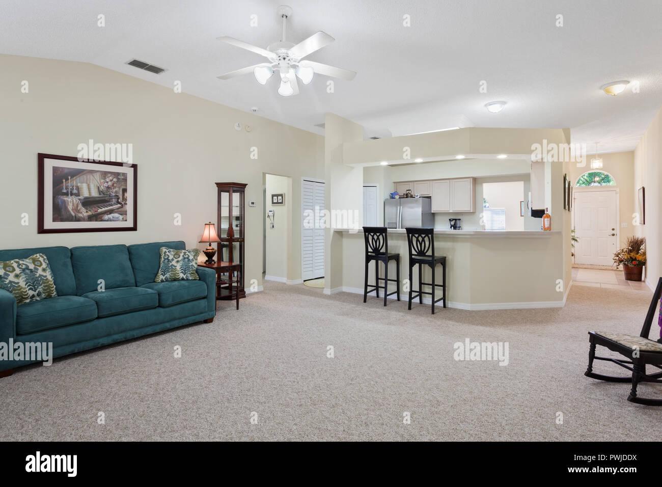 Livingroom interior - Stock Image