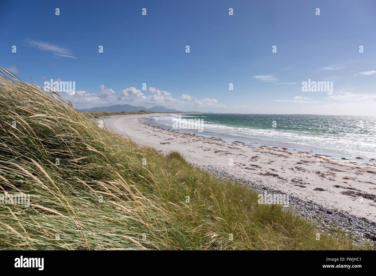 Nunton beach Benbecula, Outer Hebrides, Scotland - Stock Image