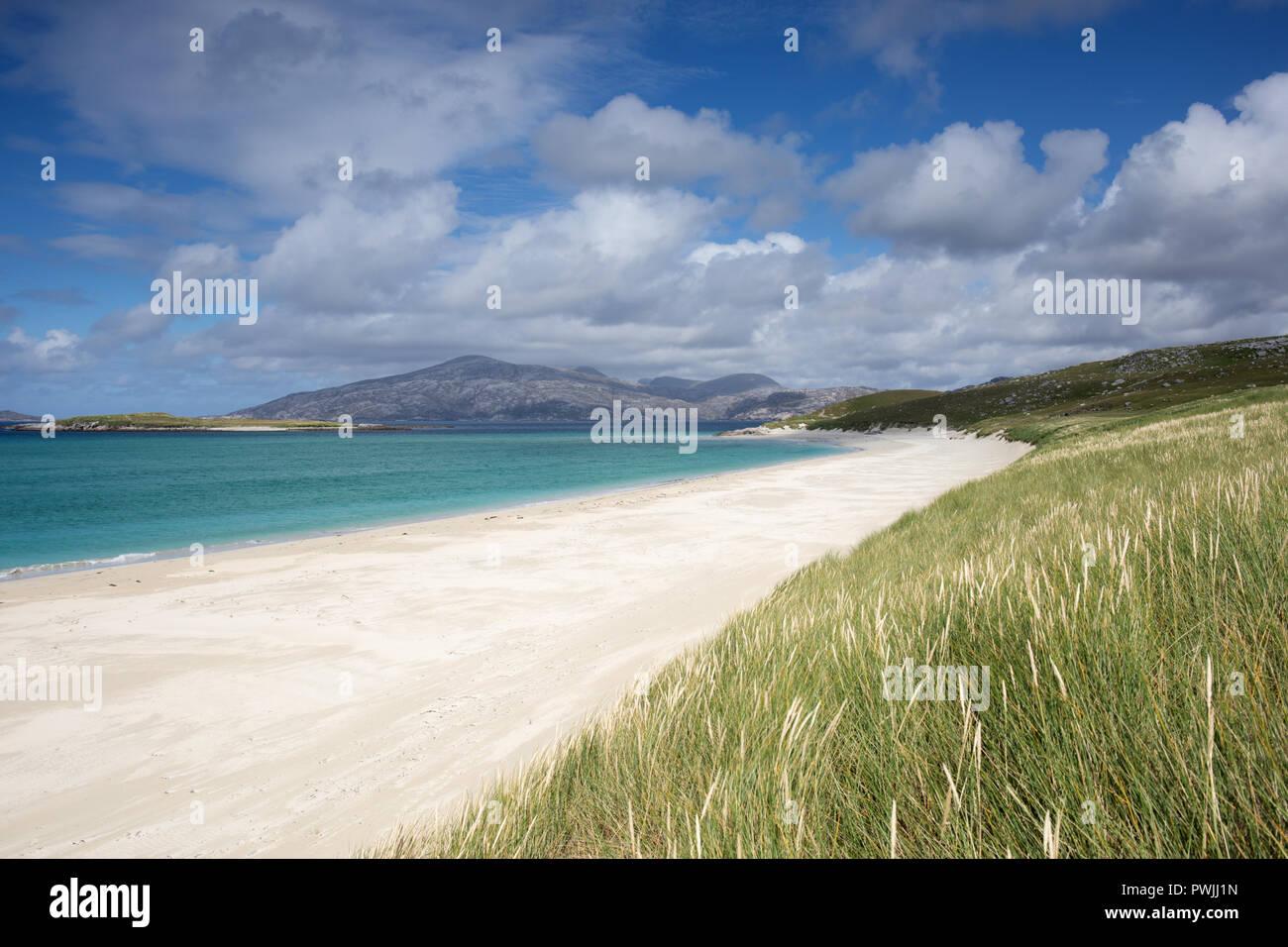 Traigh Mheilein, Huisinis, Outer Hebrides, Scotland, UK - Stock Image