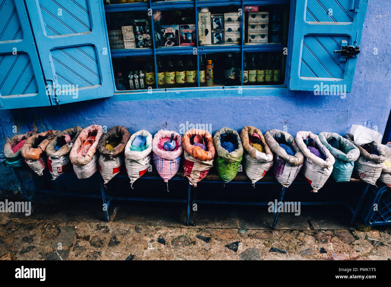 Chefchaouen, Morocco, 2018 - Stock Image