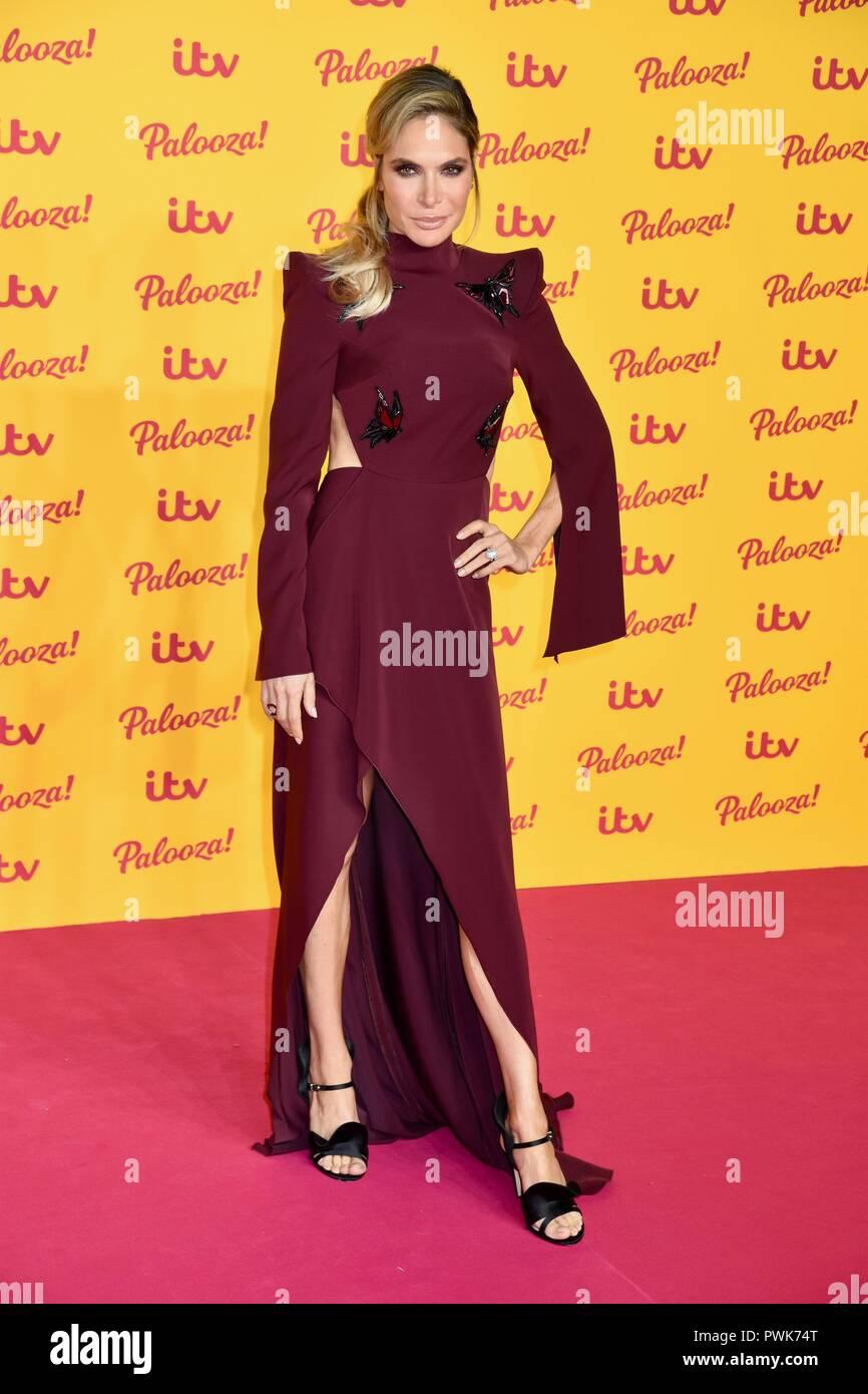 London, UK. 16th Oct 2018. Ayda Williams,ITV Palooza,Royal Festival Hall,London UK Credit: michael melia/Alamy Live News - Stock Image