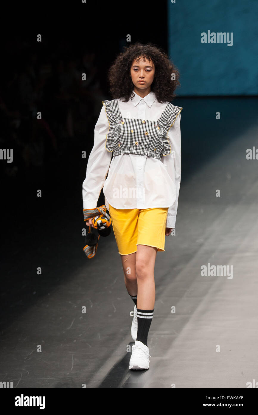2018/10/16 Tokyo, Runway Show 'Asian Fashion meets Tokyo, Philippines from  Renz Reyes and by Designer Renz Reyes at the Amazon Fashion Week Tokyo 2019  S/S. ...