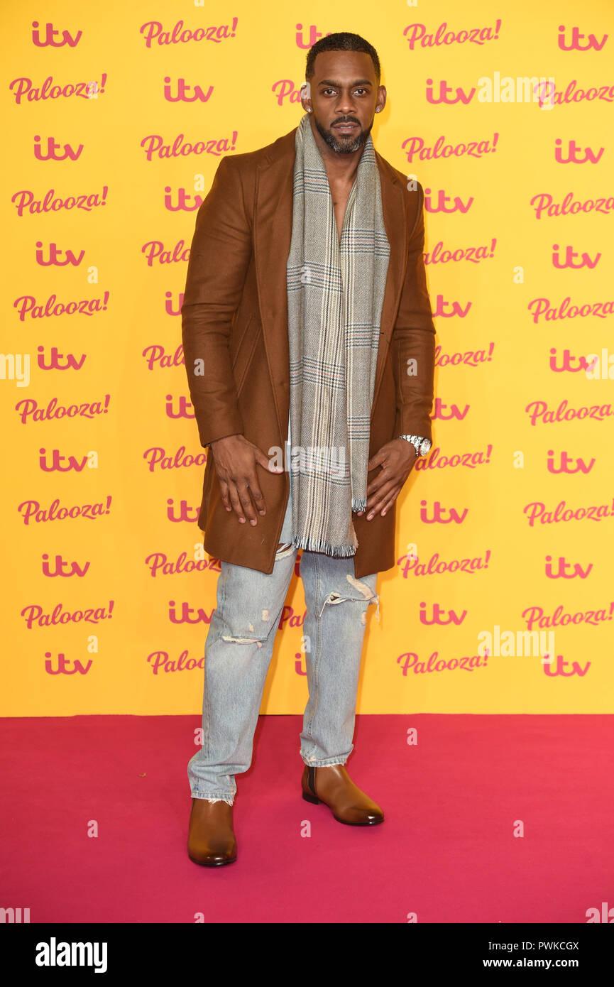 October 16 2018 Richard Blackwood Arriving For The Itv Palooza At The Royal Festival Hall London Picture Steve Vas Featureflash Credit Paul