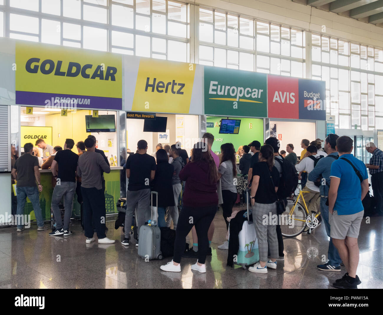 Europcar Airport Stock Photos Europcar Airport Stock Images Alamy