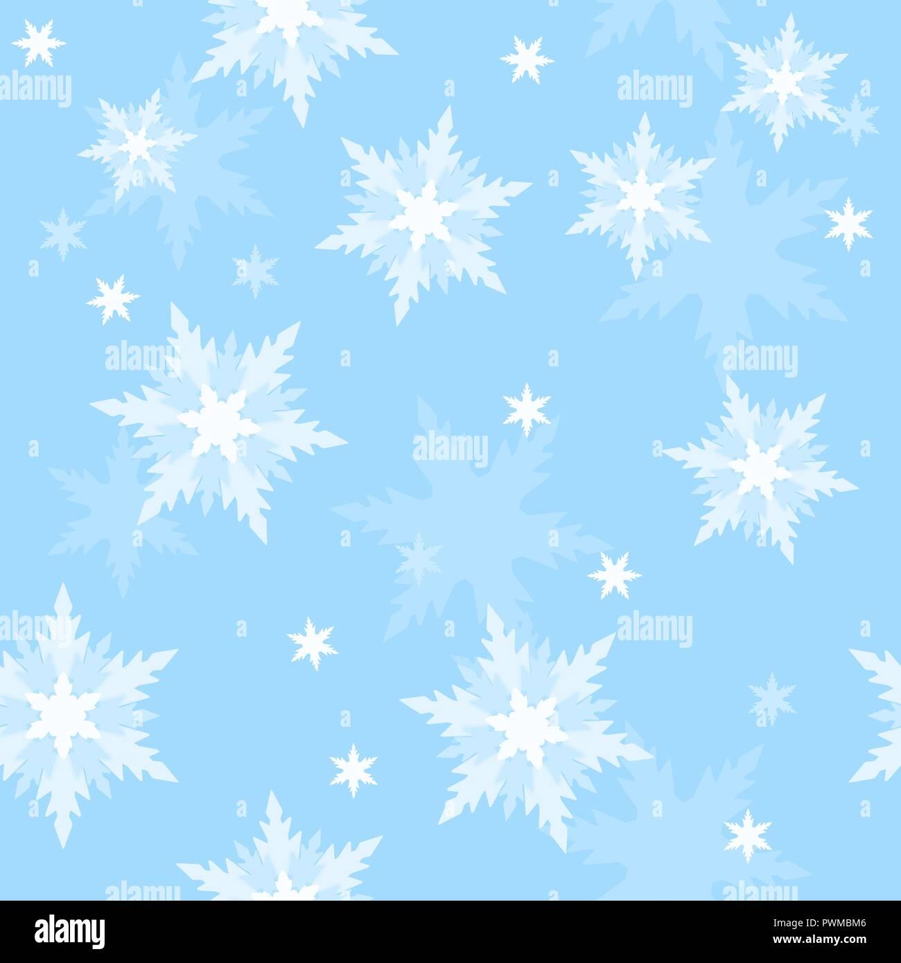 Winter holidays seamless pattern Stock Vector