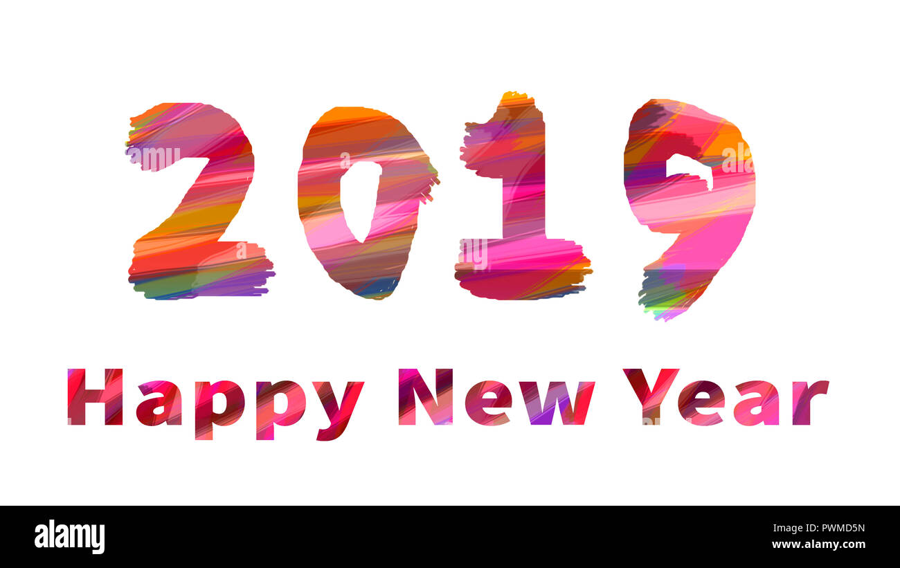 happy new year high resolution stock photography and images alamy https www alamy com happy new year 2019 image222340209 html