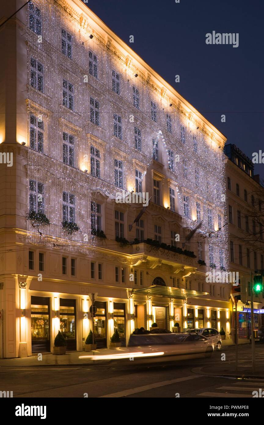 The Ring Vienna S Casual Luxury Hotel Vienna: Vienna, Hotel The Ring Stock Photo