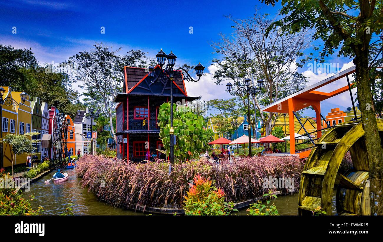 Detour Park in its full bloom - Stock Image