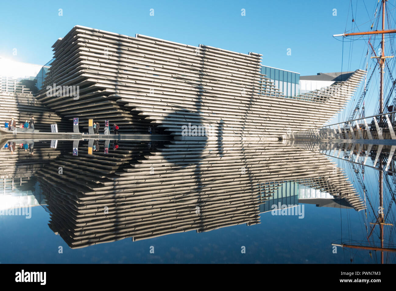 V&A Museum Dundee Scotland UK - Stock Image