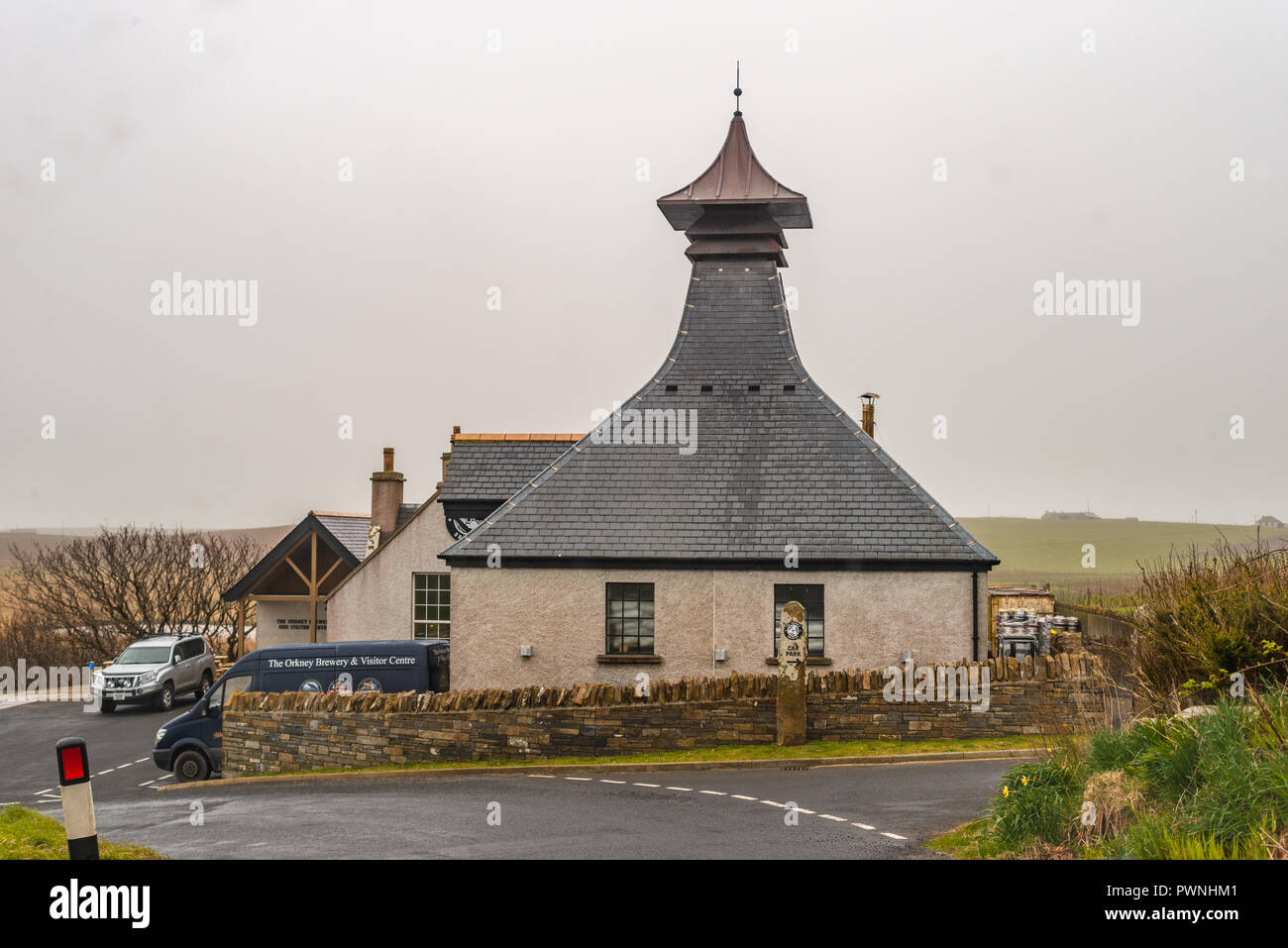 Orkney Brewery near Stromness, Quoyloo, Mainland, Orkney, Scotland, United Kingdom - Stock Image