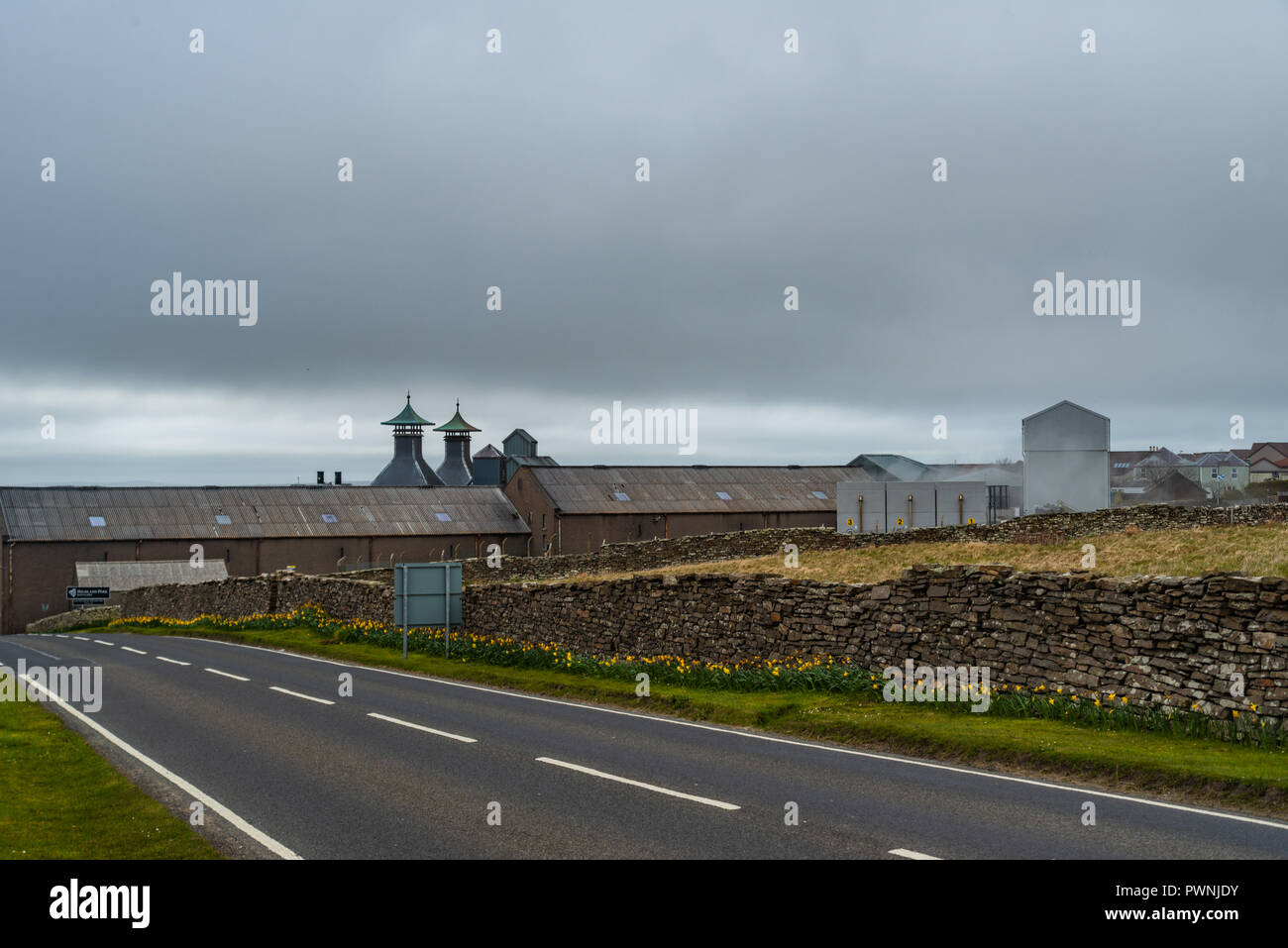 Orkney Brewery near Stromness, Quoyloo, Mainland, Orkney, Scotland, United Kingdom - Stock Image