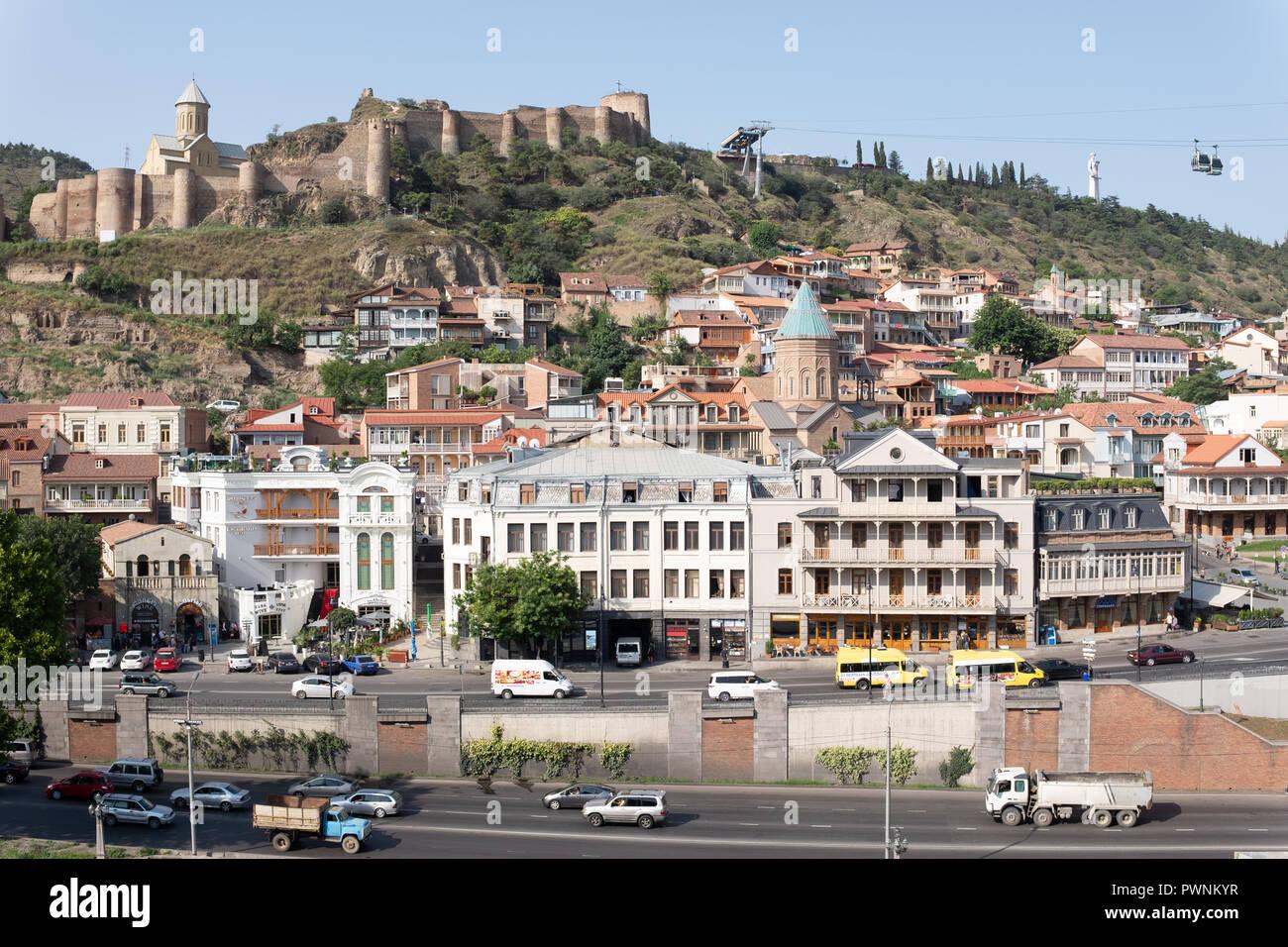 Tbilisi Georgia Police Stock Photos Tbilisi Georgia: Sololaki Tbilisi Stock Photos & Sololaki Tbilisi Stock