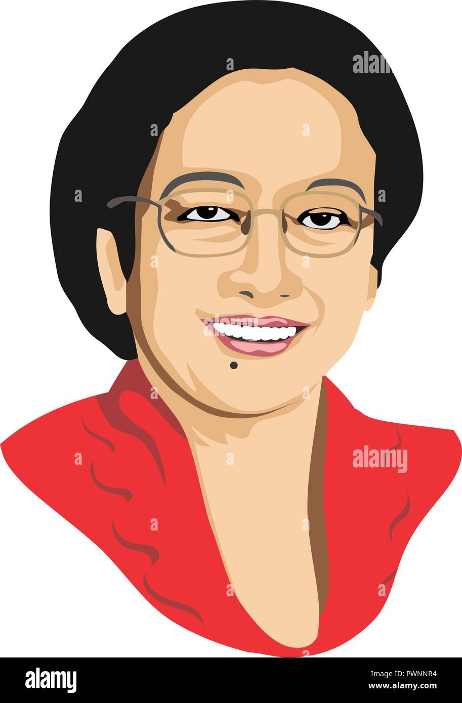 5th president of republic of indonesia megawati soekarnoputri stock vector image art alamy https www alamy com 5th president of republic of indonesia megawati soekarnoputri image222368920 html