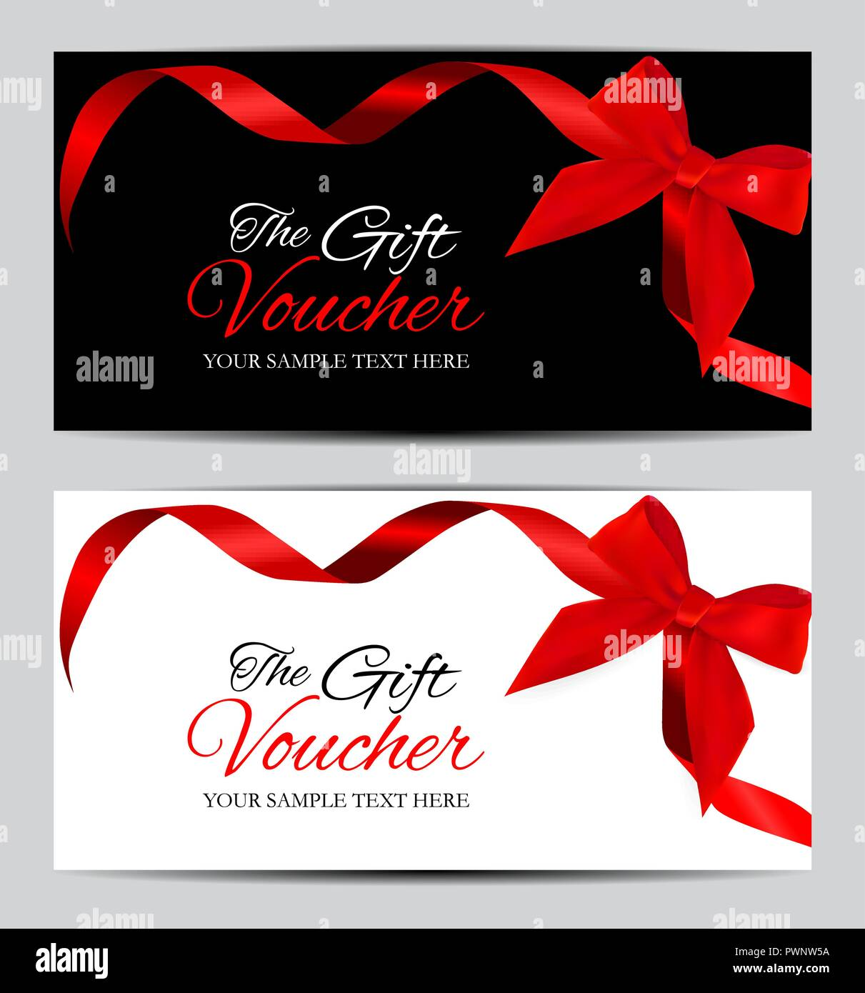 Gift Card Stock Vector Images Alamy
