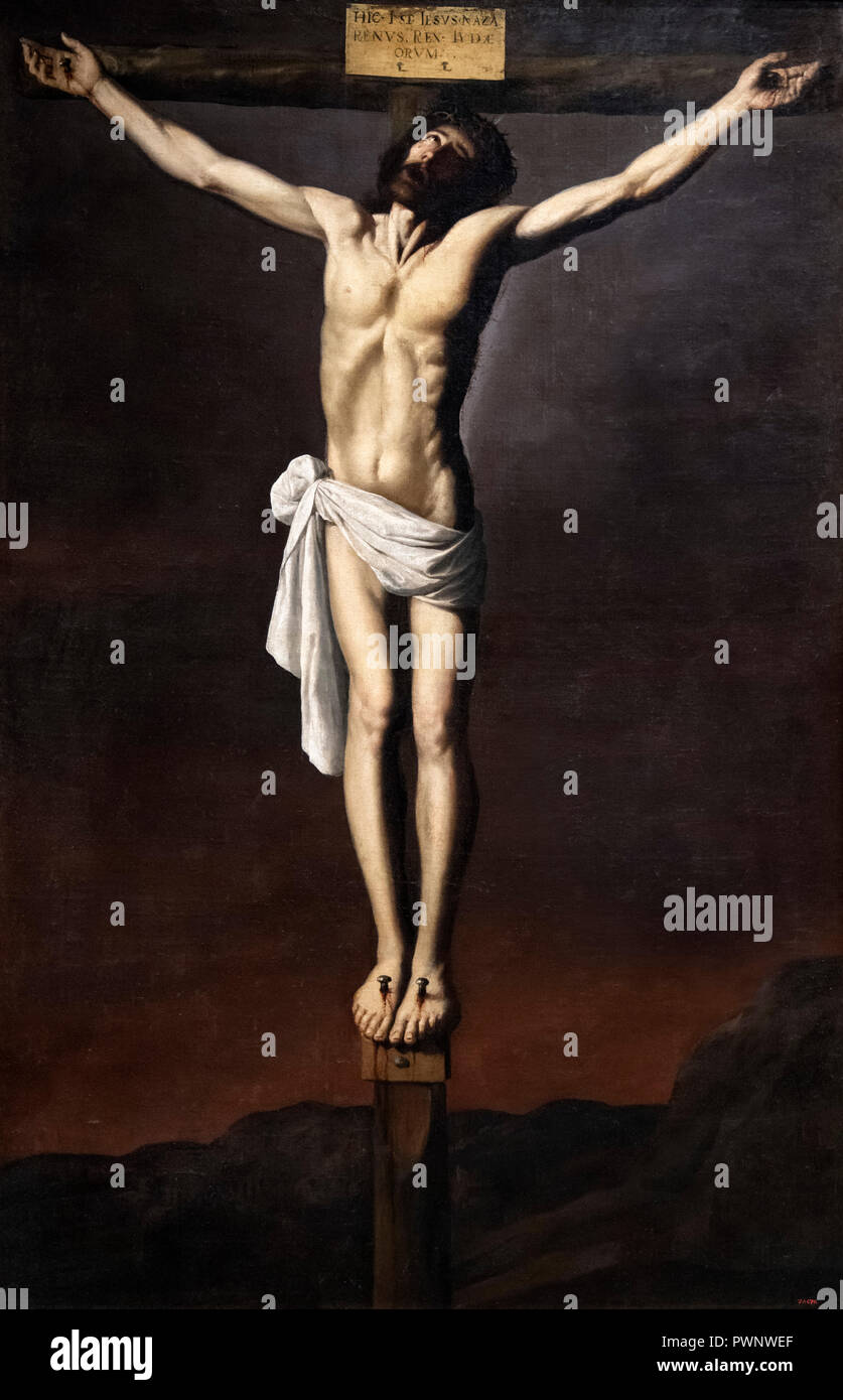 from the Isenheim Altarpiece c The Crucifixion 1512 Life of Jesus on Canvas