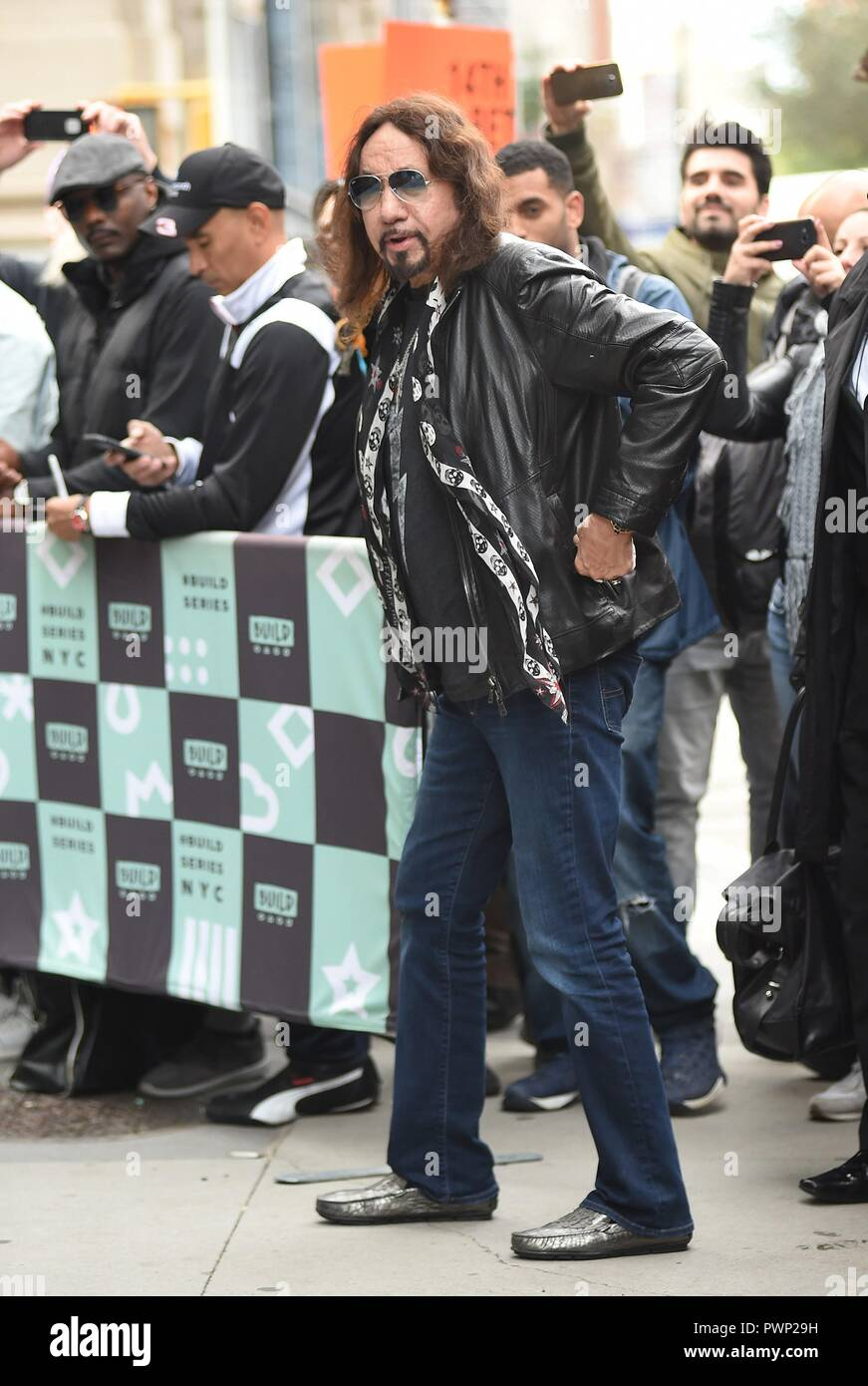 New York Ny Usa 16th Oct 2018 Ace Frehley Out And About For