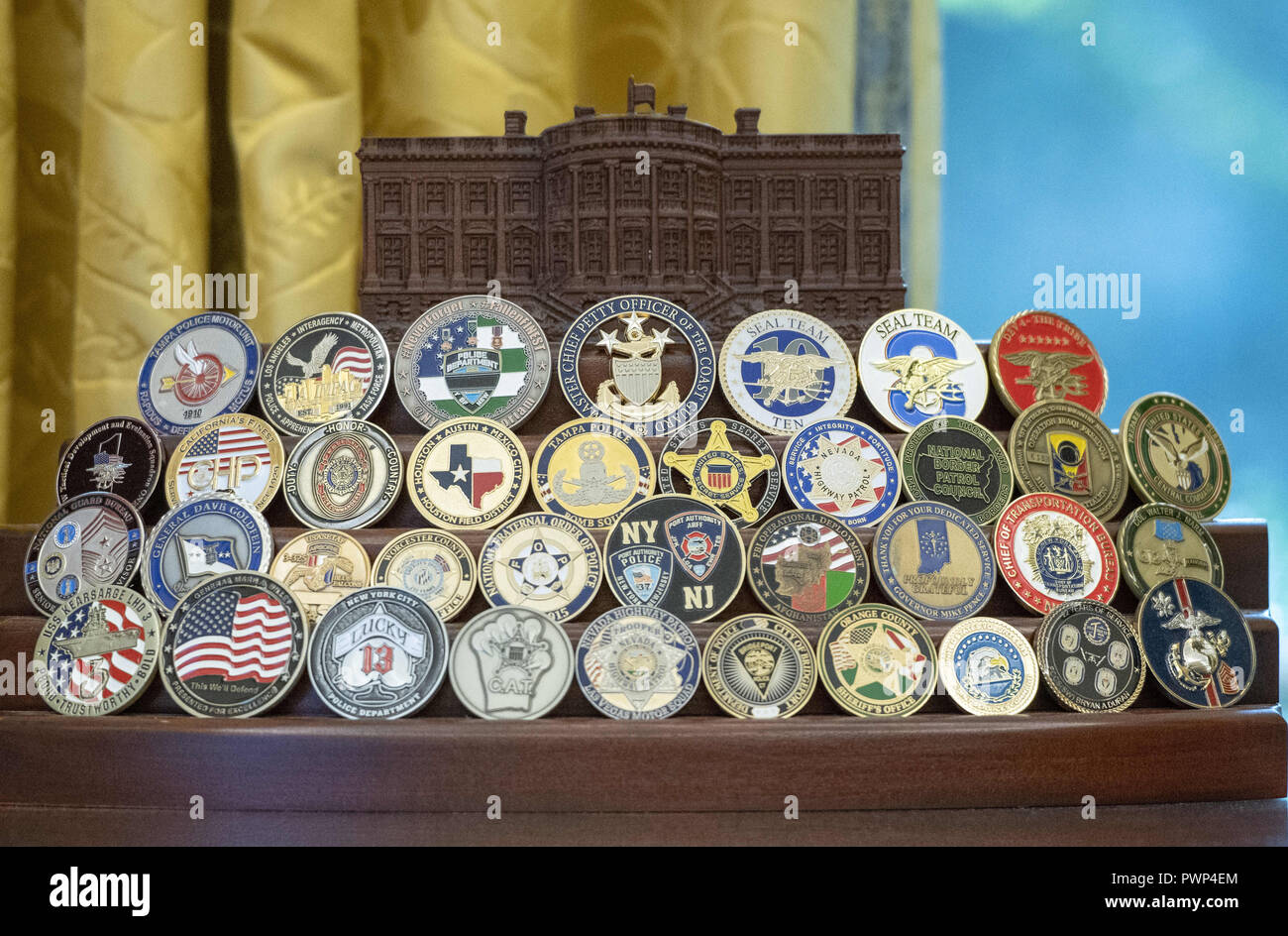 Challenge Coins Stock Photos & Challenge Coins Stock Images - Alamy